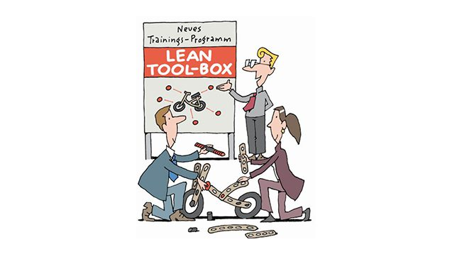 Lean Toolbox mit Zertifikat Lean Instructor
